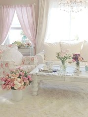 Shabby Chic Decoration Ideas For Living Room 13