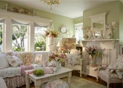 Shabby Chic Decoration Ideas For Living Room 17