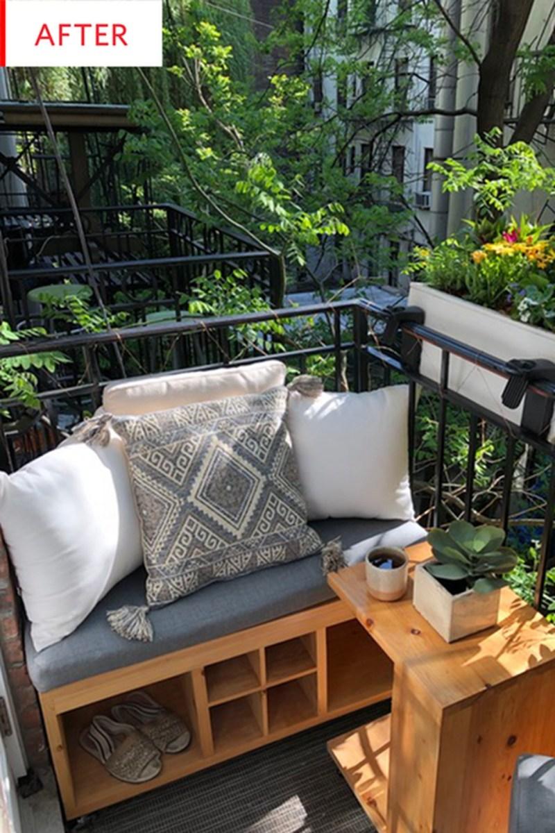 Stunning Small Patio Garden Decorating Ideas 40