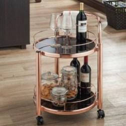 Wonderful Apartment Coffee Bar Cart Ideas 09