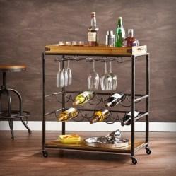Wonderful Apartment Coffee Bar Cart Ideas 12
