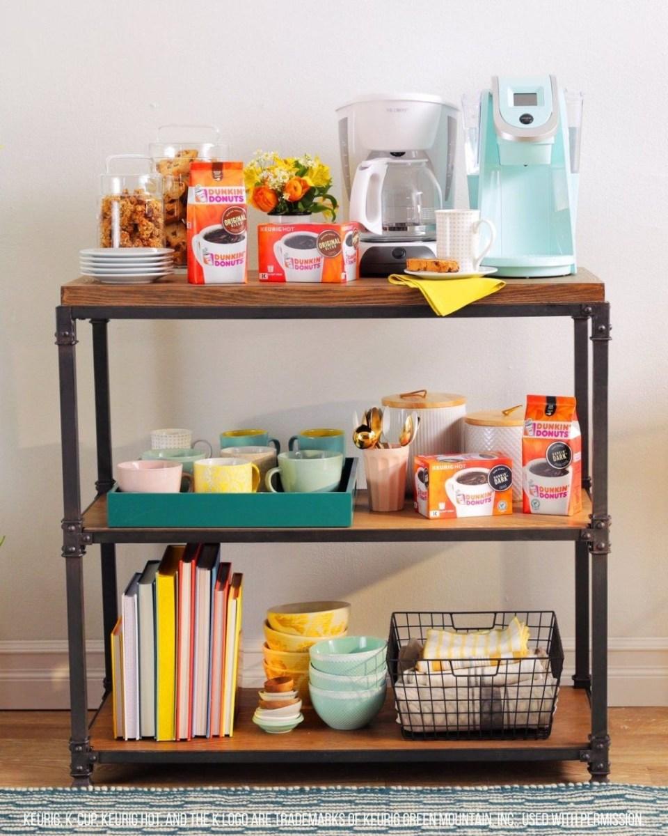 Wonderful Apartment Coffee Bar Cart Ideas 21