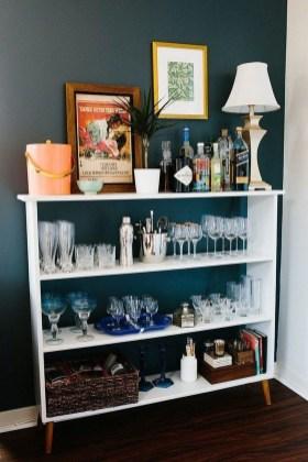 Wonderful Apartment Coffee Bar Cart Ideas 24