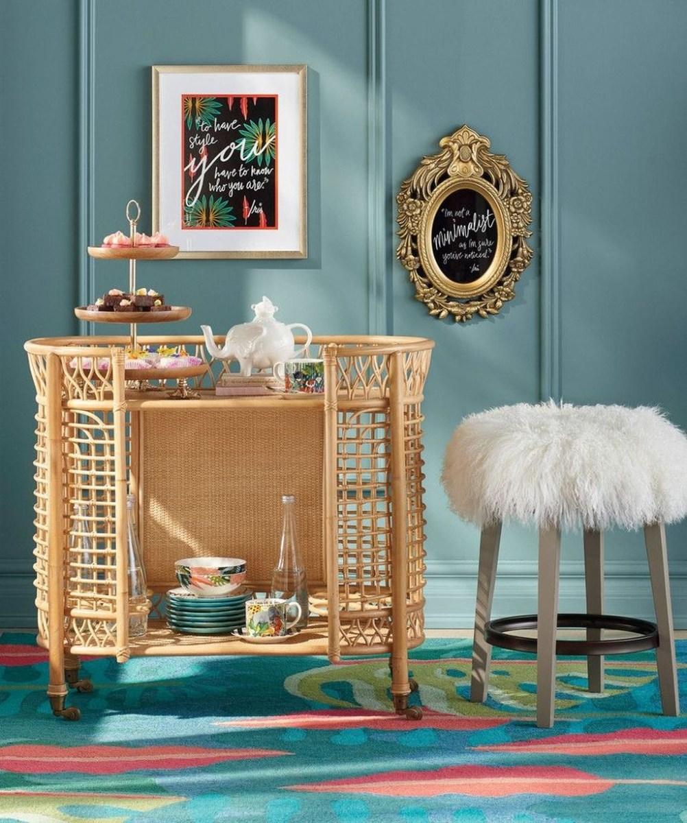 Wonderful Apartment Coffee Bar Cart Ideas 30