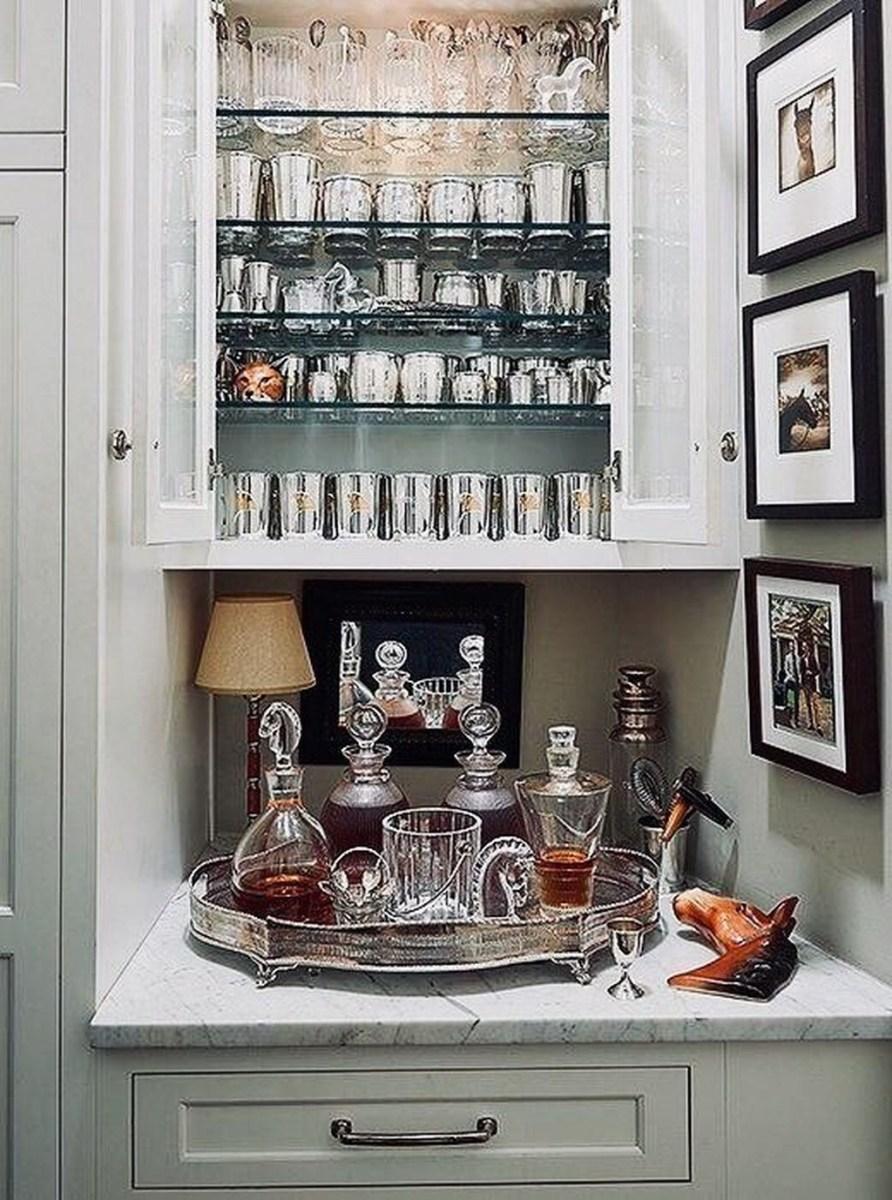 Wonderful Apartment Coffee Bar Cart Ideas 33