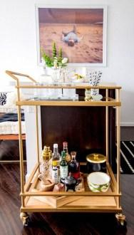 Wonderful Apartment Coffee Bar Cart Ideas 51