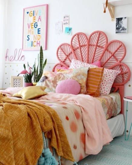 Wonderful Bohemian Design Decorating Ideas For Bedroom 10