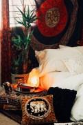 Wonderful Bohemian Design Decorating Ideas For Bedroom 22