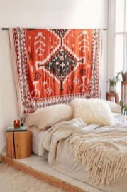Wonderful Bohemian Design Decorating Ideas For Bedroom 23
