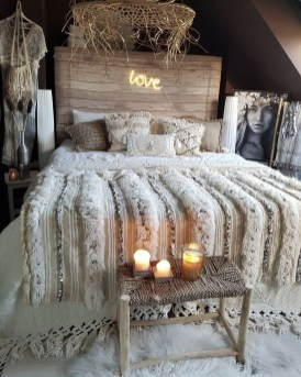 Wonderful Bohemian Design Decorating Ideas For Bedroom 28