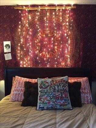 Wonderful Bohemian Design Decorating Ideas For Bedroom 42