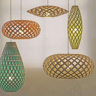 Adorable Hanging Lamp Designs Ideas From Rattan 33