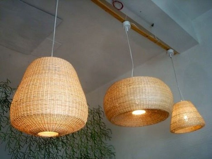 Adorable Hanging Lamp Designs Ideas From Rattan 46
