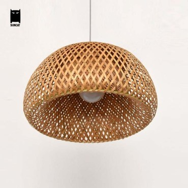 Adorable Hanging Lamp Designs Ideas From Rattan 48