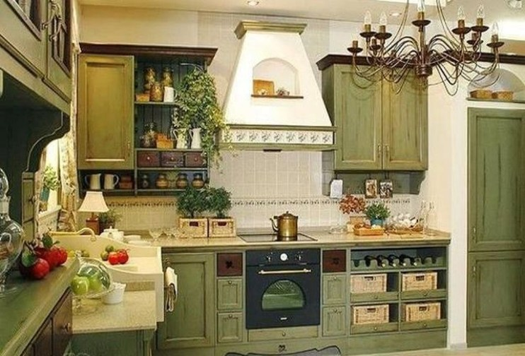 Awesome French Country Design Ideas For Kitchen 35