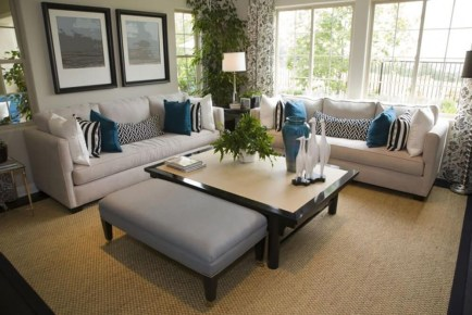 Catchy Living Room Designs Ideas With Bold Black Furniture 12