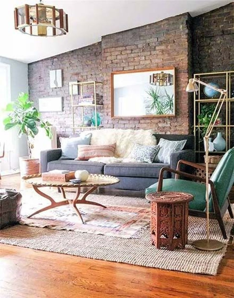 Catchy Living Room Designs Ideas With Bold Black Furniture 21