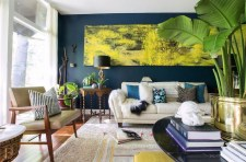 Catchy Living Room Designs Ideas With Bold Black Furniture 42