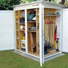 Cool Small Storage Shed Ideas For Garden 13