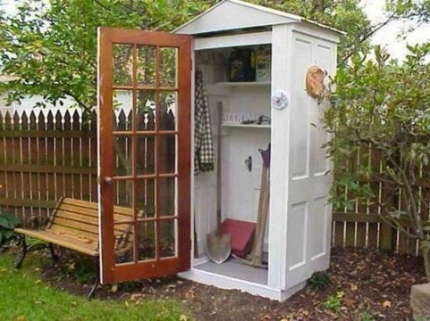 Cool Small Storage Shed Ideas For Garden 29