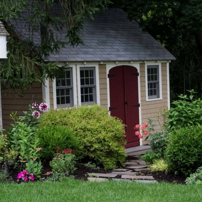 Cool Small Storage Shed Ideas For Garden 31