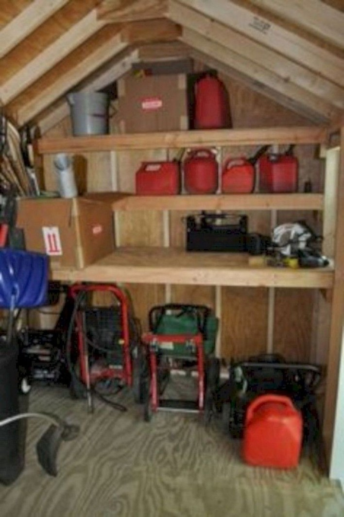 Cool Small Storage Shed Ideas For Garden 39