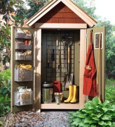 Cool Small Storage Shed Ideas For Garden 40