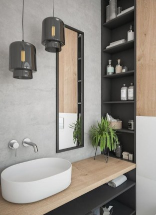 Elegant Bathroom Makeovers Ideas For Small Space 09