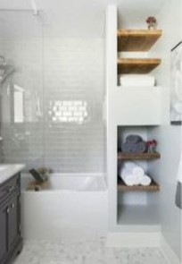 Elegant Bathroom Makeovers Ideas For Small Space 14
