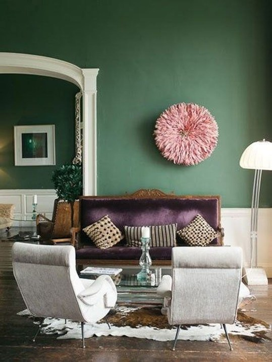 Enchanting Living Rooms Ideas With Combinations Of Grey Green 20