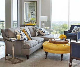 Enchanting Living Rooms Ideas With Combinations Of Grey Green 25