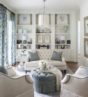 Impressive French Style Living Room Designs Ideas 16