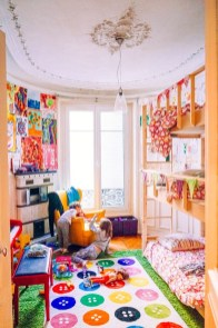 Inspiring Shared Kids Room Design Ideas 04