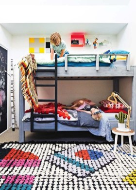 Inspiring Shared Kids Room Design Ideas 08