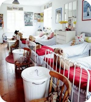 Inspiring Shared Kids Room Design Ideas 21