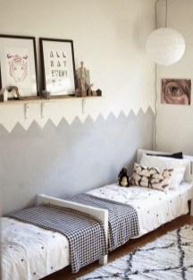 Inspiring Shared Kids Room Design Ideas 37