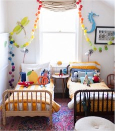 Inspiring Shared Kids Room Design Ideas 46