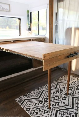 Latest Rv Hacks Makeover Table Ideas On A Budget 15
