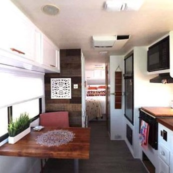 Latest Rv Hacks Makeover Table Ideas On A Budget 50