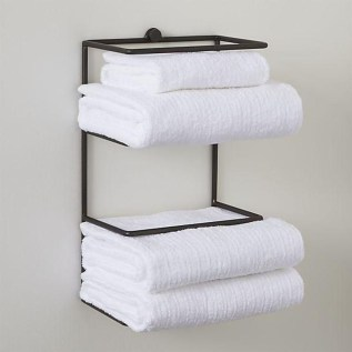 Luxury Towel Storage Ideas For Bathroom 10