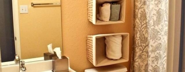 Luxury Towel Storage Ideas For Bathroom 16