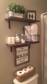 Luxury Towel Storage Ideas For Bathroom 47