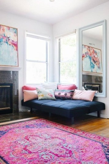 Modern Vibrant Rooms Reading Ideas 17