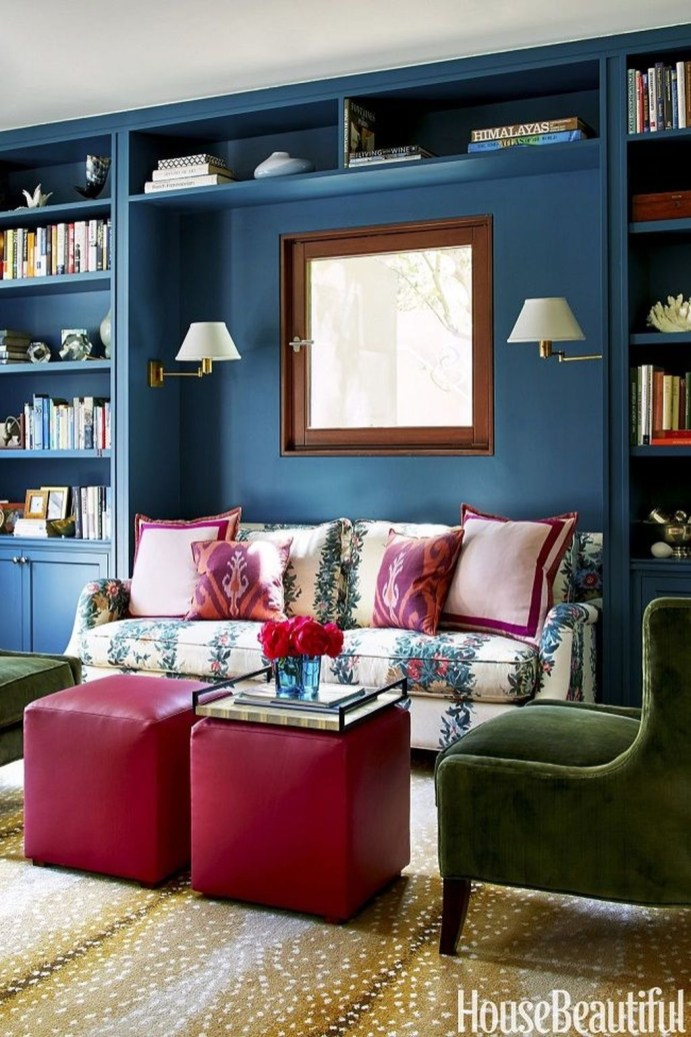 Modern Vibrant Rooms Reading Ideas 28