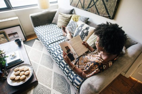 Modern Vibrant Rooms Reading Ideas 42
