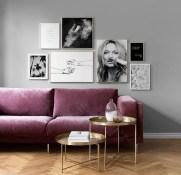Popular Velvet Sofa Designs Ideas For Living Room 17