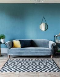 Popular Velvet Sofa Designs Ideas For Living Room 36