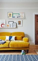 Popular Velvet Sofa Designs Ideas For Living Room 42