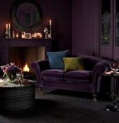 Popular Velvet Sofa Designs Ideas For Living Room 47