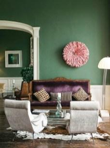 Popular Velvet Sofa Designs Ideas For Living Room 49